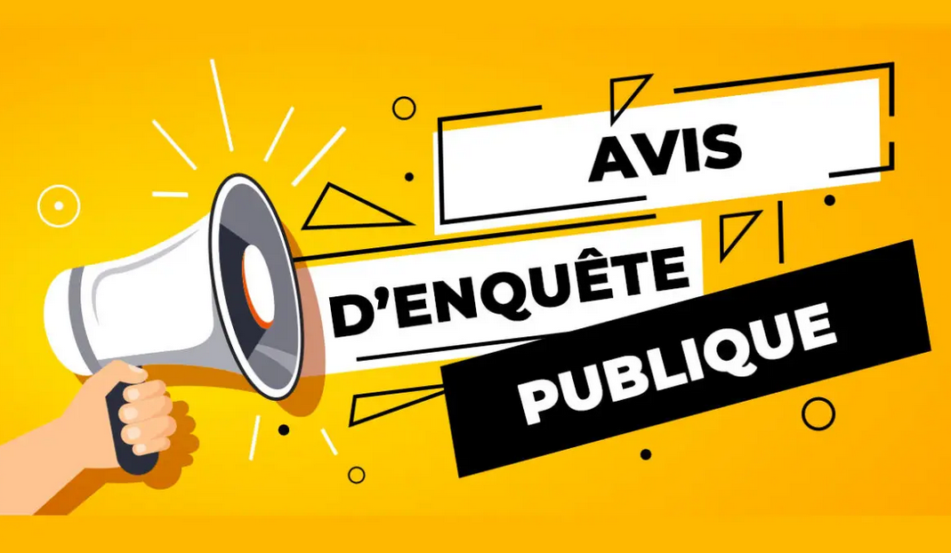 AVIS D'ENQUÊTE PUBLIQUE